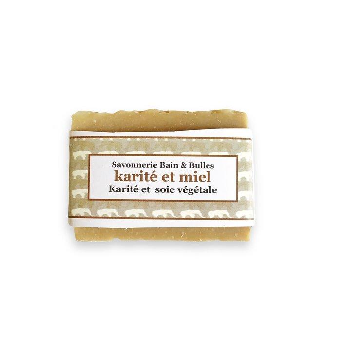 Barres de savon à la soie -