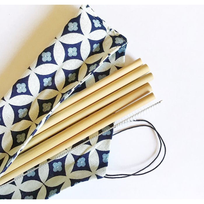 Pailles en bambou -