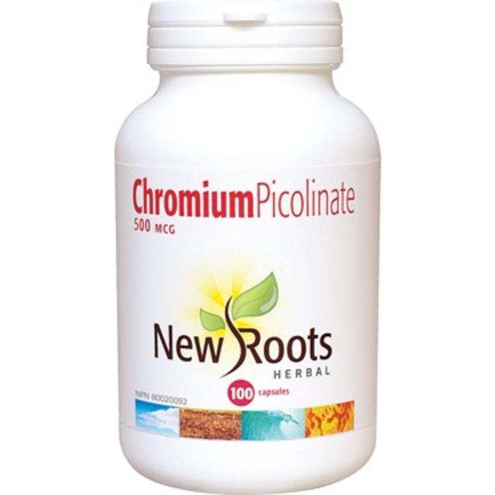 Chromium picolinate 500mcg 100 capsules