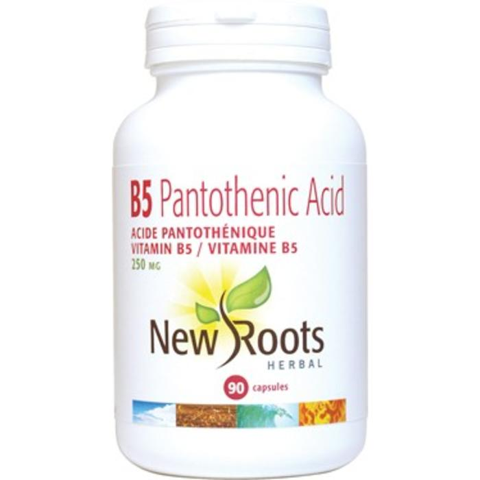 Vitamine B5 acide pantothenique 100 capsules