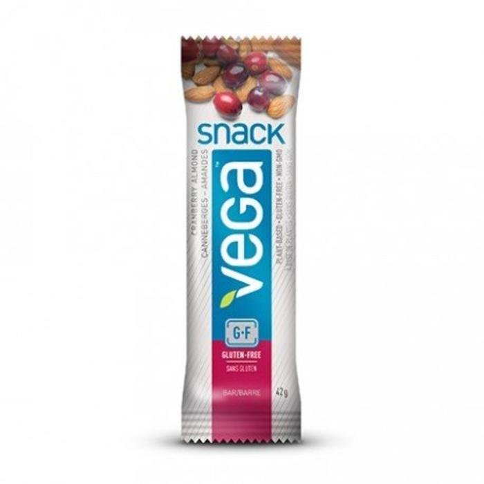 VEGA Barre Snack Canneberges et amandes 42g