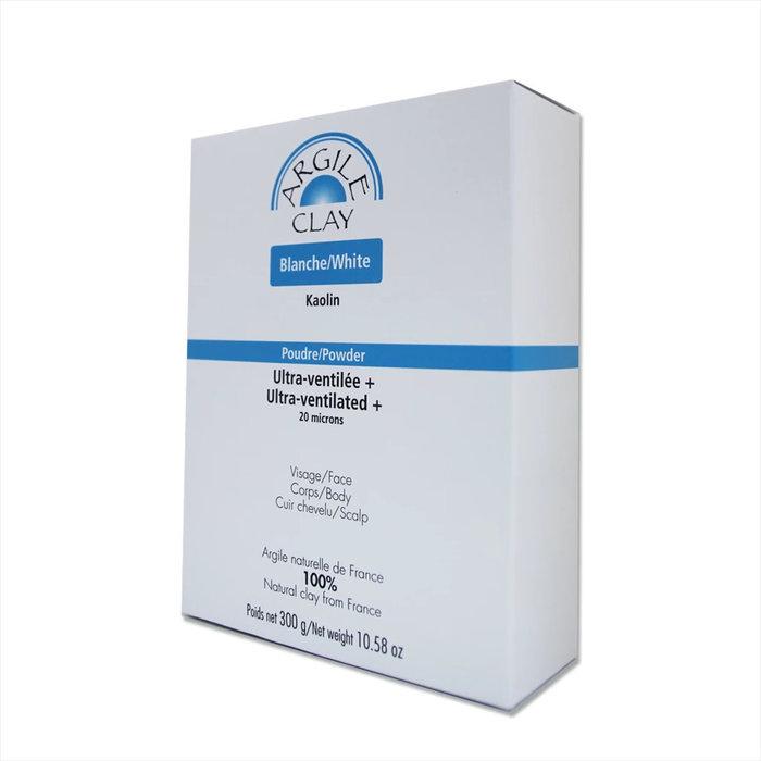 Argile blanche kaolin ultra-ventilee 300g