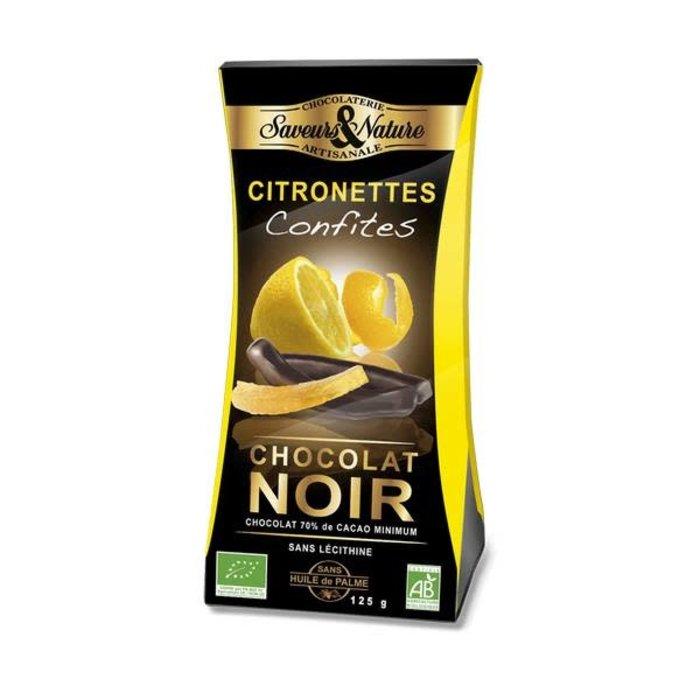 Citronnettes - Lamelles de citron confit enrobées