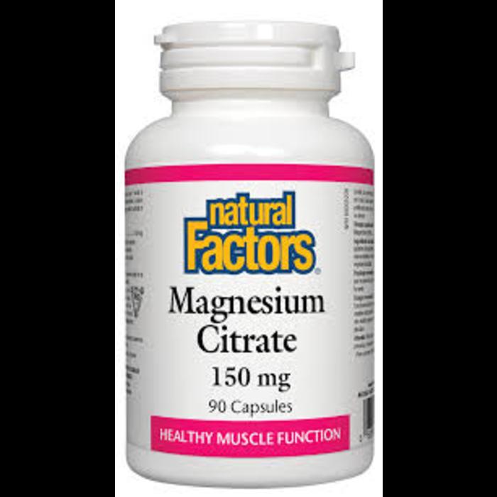 Magnesium citrate 150mg 90 caps