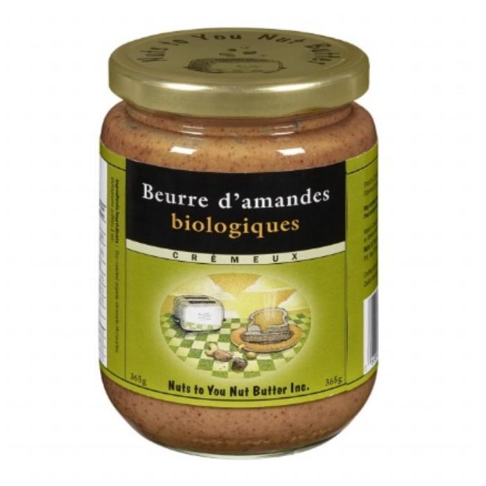 Beurre d'amandes, cremeux bio 250g