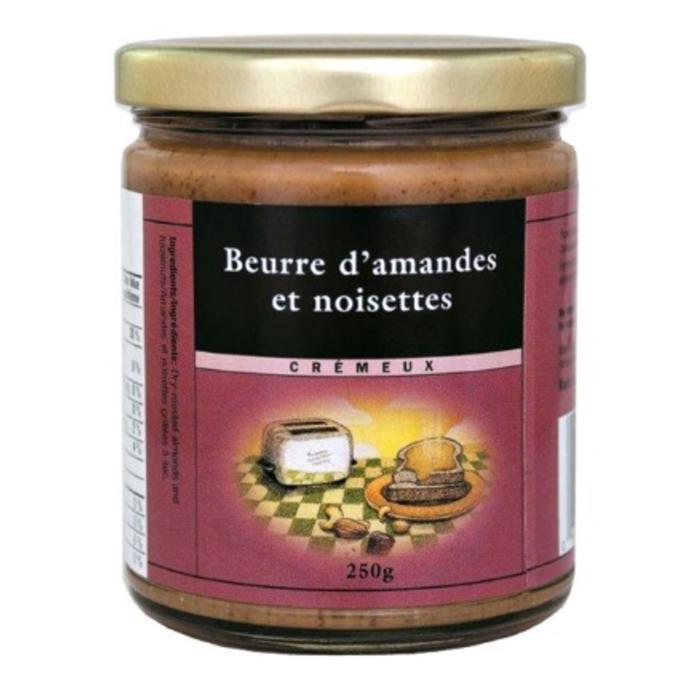 Beurre de noisettes et amandes, cremeux 250g