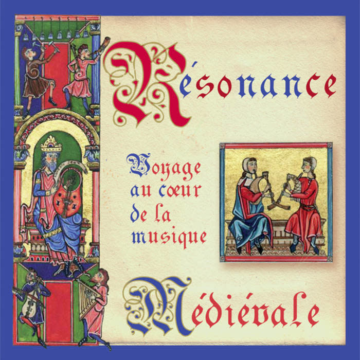 CD Resonance Medievale de Louise Goulet