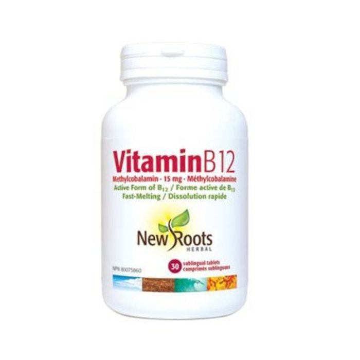 B12 Méthylcobalamine 15 mg 30 capsules