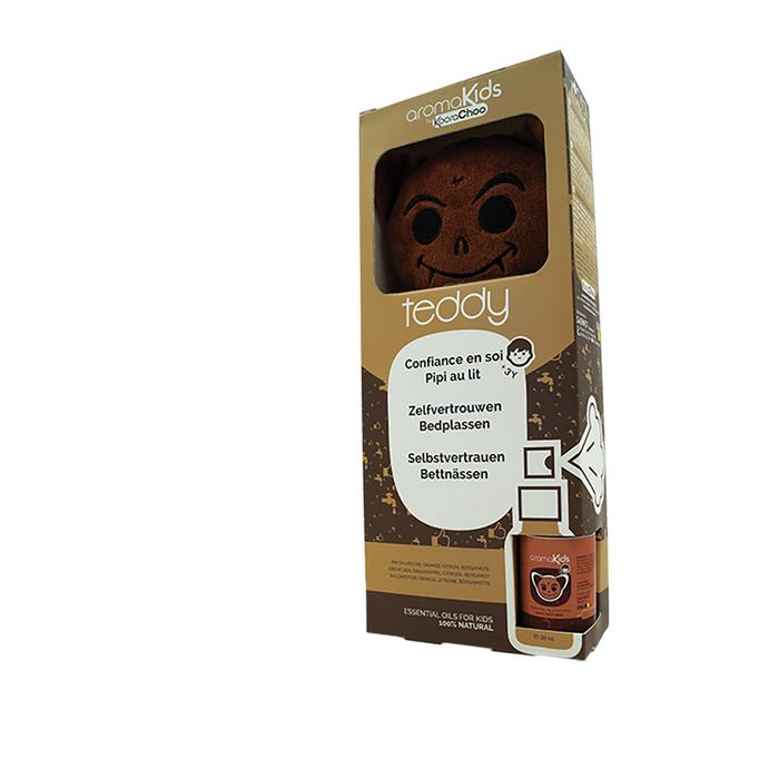Kit toutou et huiles essentielles Teddy (confiance)