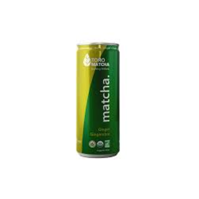 Matcha petillant gingembre bio 355ml