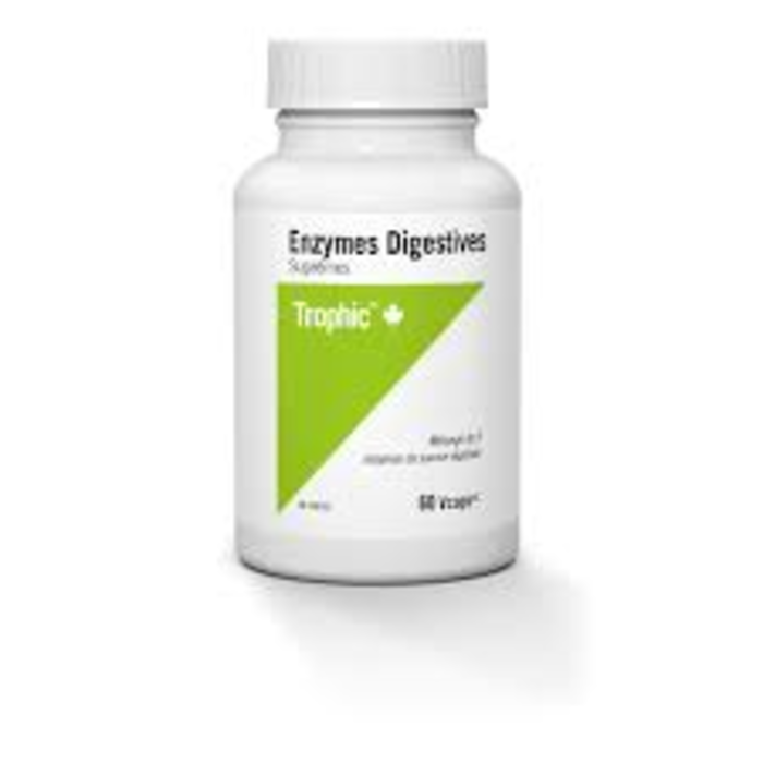 Enzymes digestives (graisse) 60 capsules