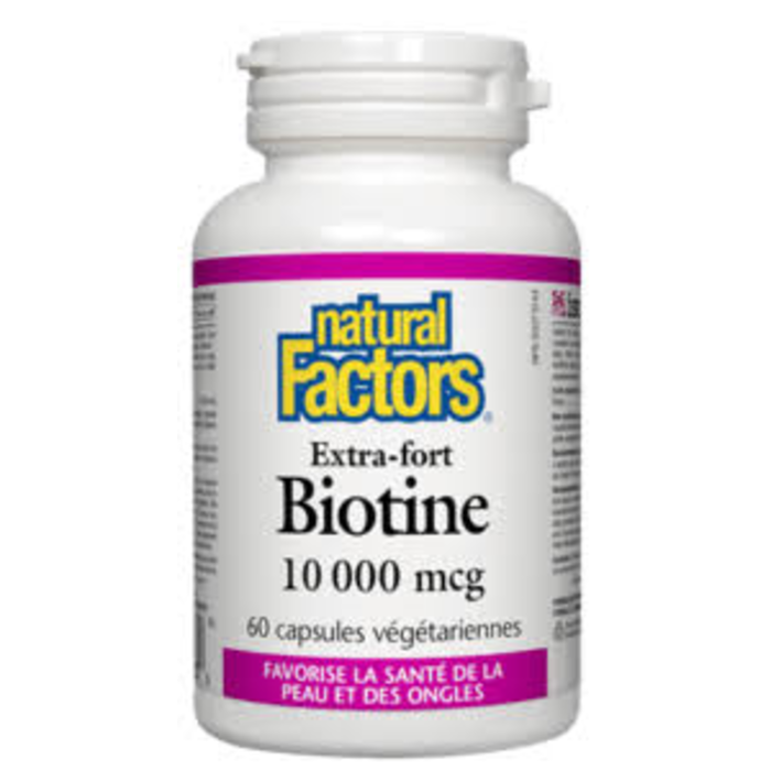 Biotine 10,000mcg 60 capsules