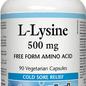 L-Lysine 500mg 90 capsules