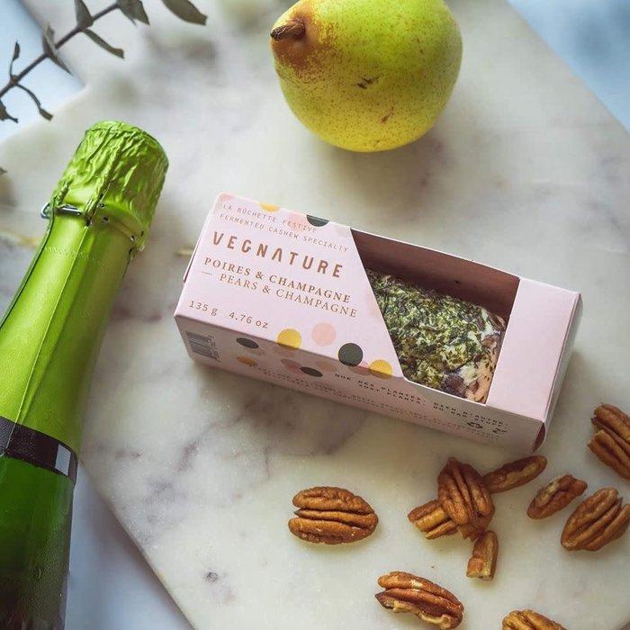 Vromage La Buchette festive poires & champagne 135g