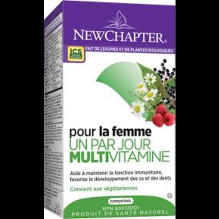 Multivitamine Femme 1 par jour 24 comprimés