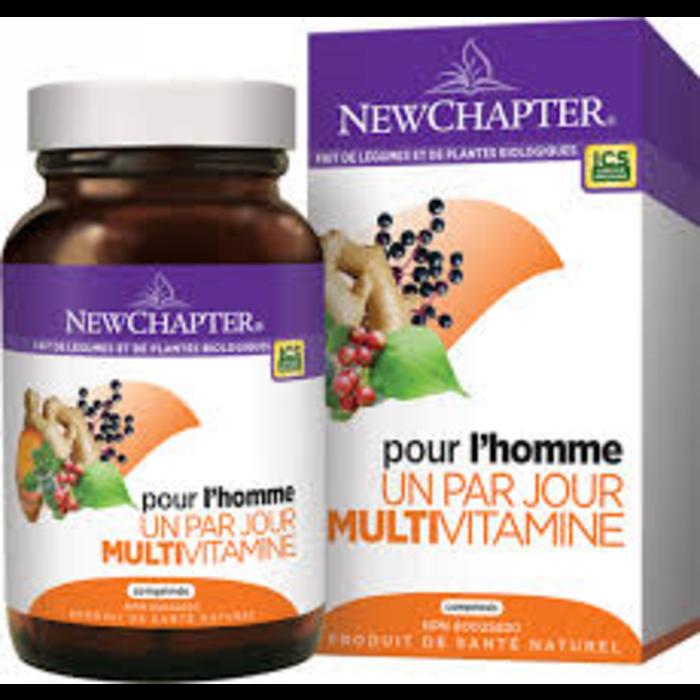 Multivitamine Homme 1 par jour 24 comprimés