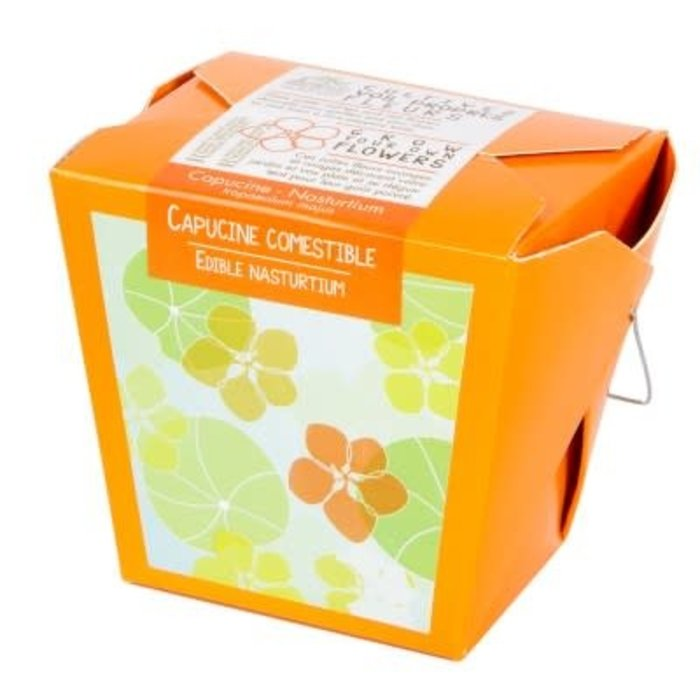 "Pot 4"" Collection de Fleurs - Capucines comestibles"