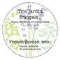 """Pot 7"""" trio biologique - jardin français"""