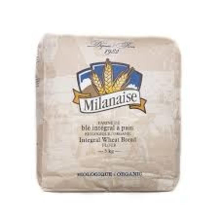 Farine ble integral à pain bio 5kg