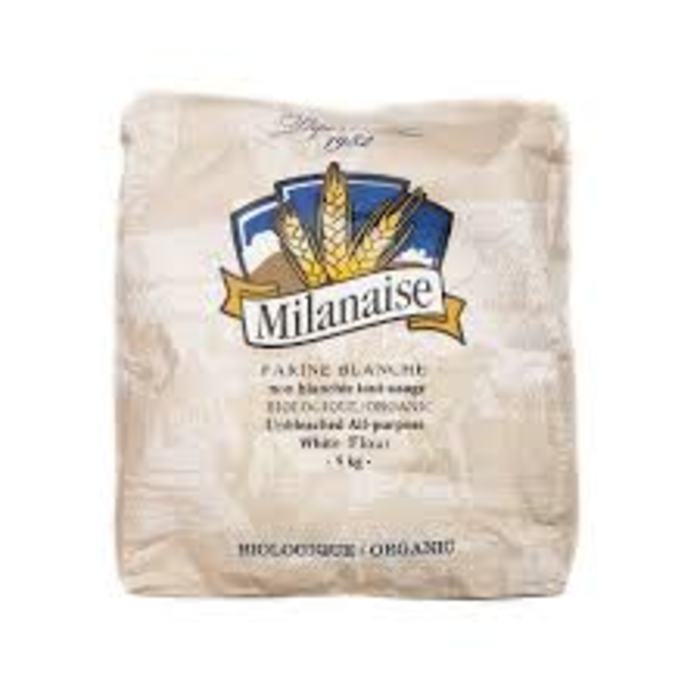 Farine tout usage blanche non blanchie bio 5kg