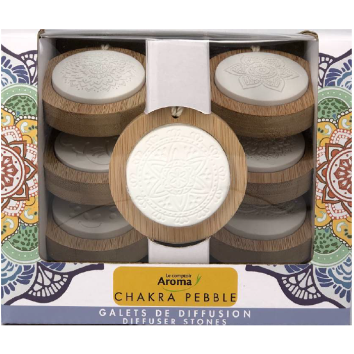 Chackra Pebble - galets de diffusion