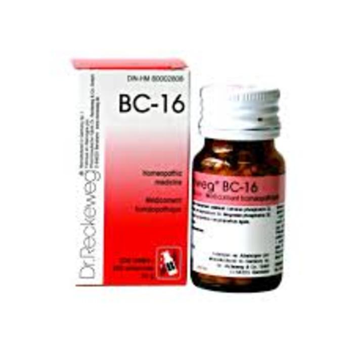 BC16 200 comprimes