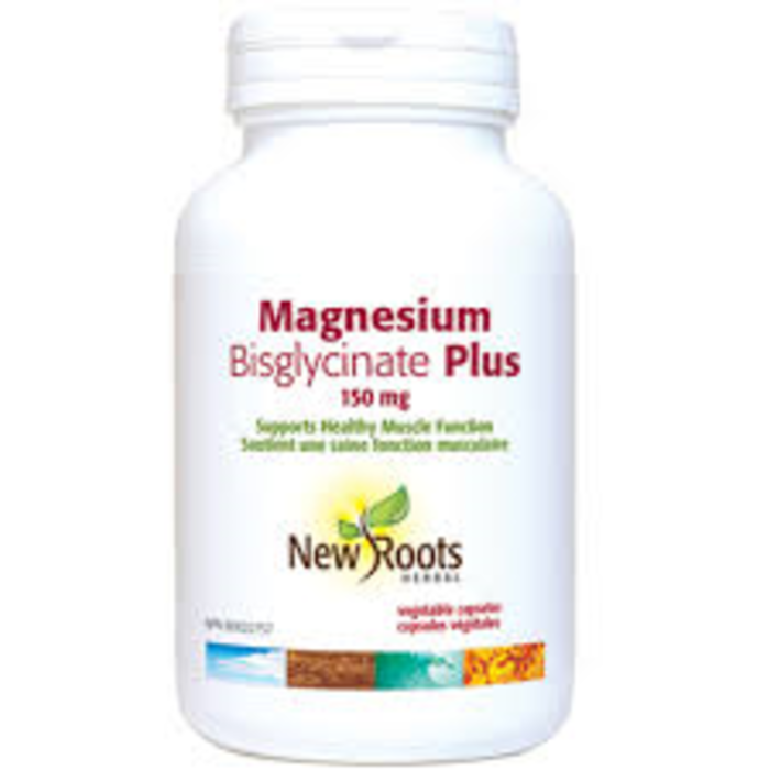 Magnesium Bisglycinate plus 150mg 60caps.