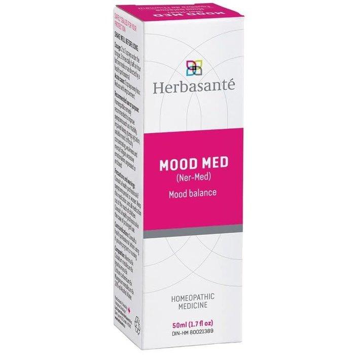 Mood Med (Ner-Med) - formule homéopathique pour équilibre de l'humeur 50 ml