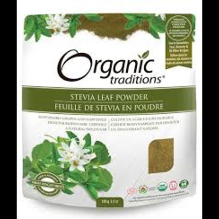 Feuilles de Stévia en poudre bio 100g