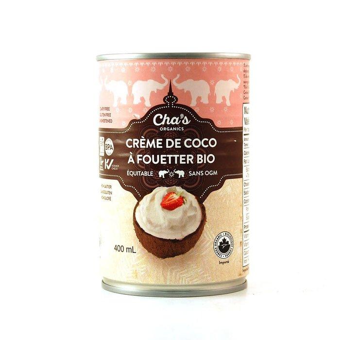 Crème de coco bio équitable à fouetter 400ml