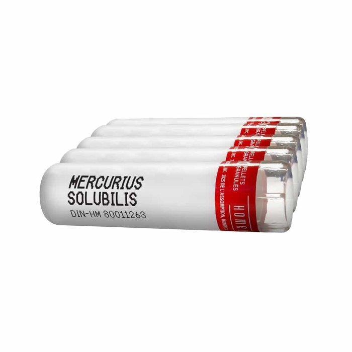Mercurius solubilis 9CH