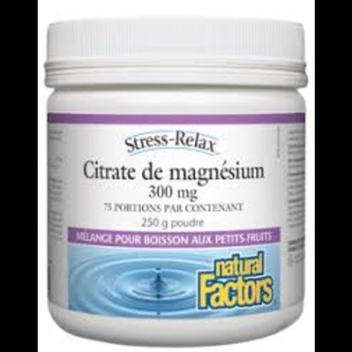 Citrate de Magnésium 300mg 250g