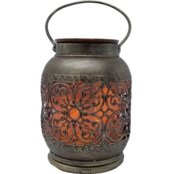Lampe de sel rose avec plaque pour huile  Jaipur