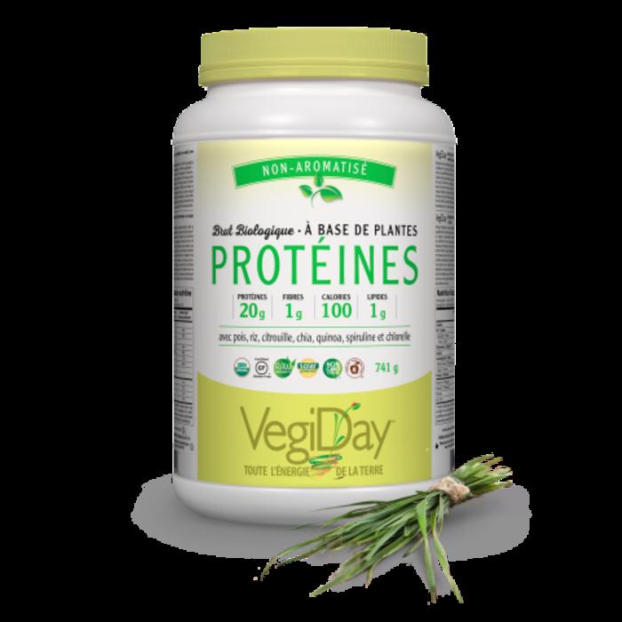Protéines 100% base de plante, sans saveur 840g