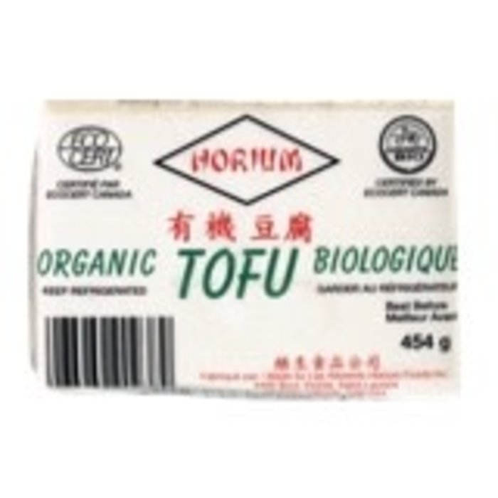 Tofu dur bio.  sous vide 454g