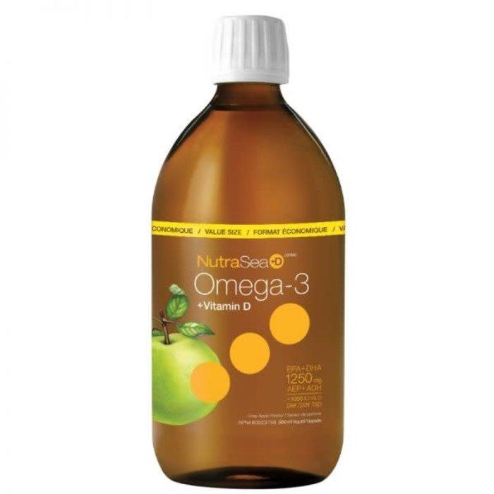 Omega-3+ Vit.D pomme (1250 mg) 200ml