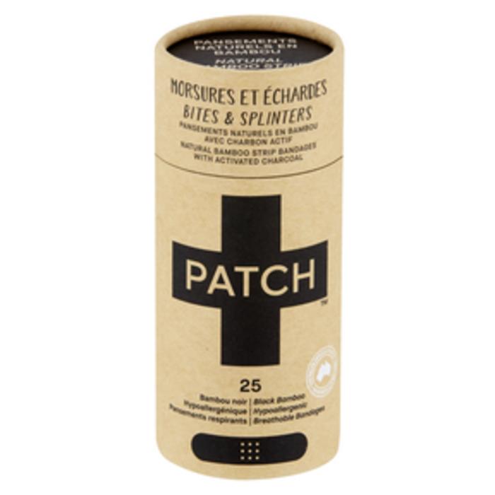 Bandage adhésif charbon activé paquet de 25