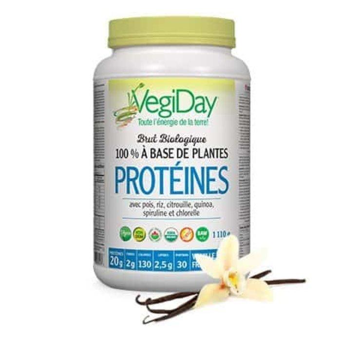 Protéines 100% base de plantes