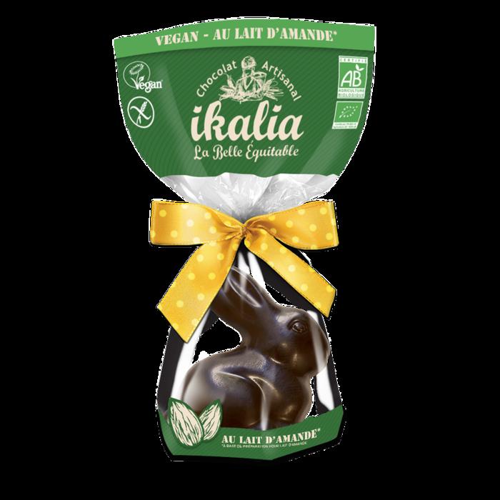 Lapin assis vegan - chocolat au lait d'amande - 60g