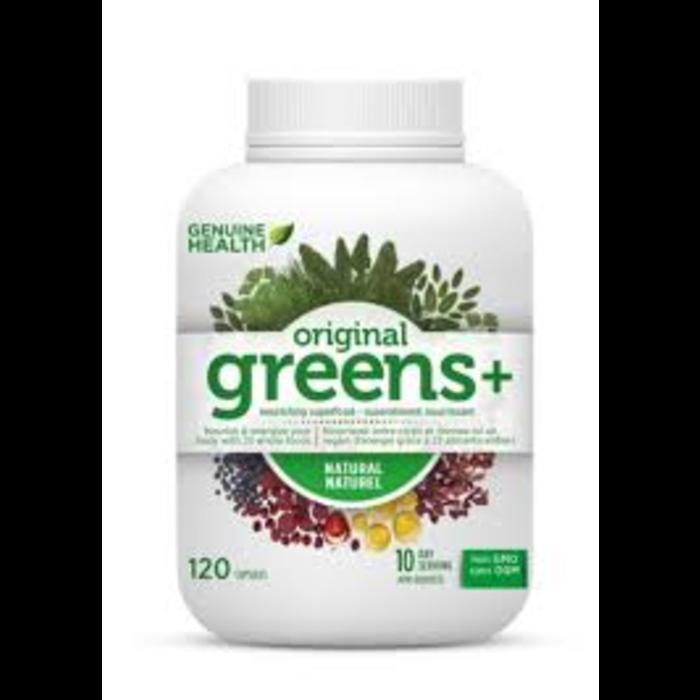 Greens original 120 capsules