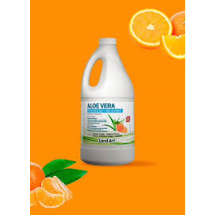 Aloe vera gel 1,5L Orange tangerine