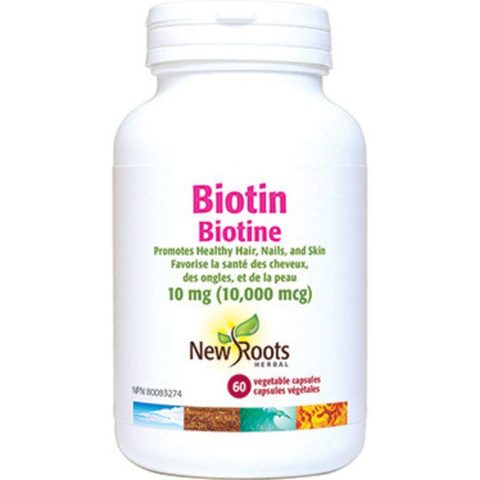 Biotine 10,000 mcg 60 capsules