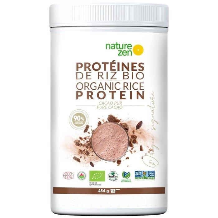Protéines de riz bio cacao 454g