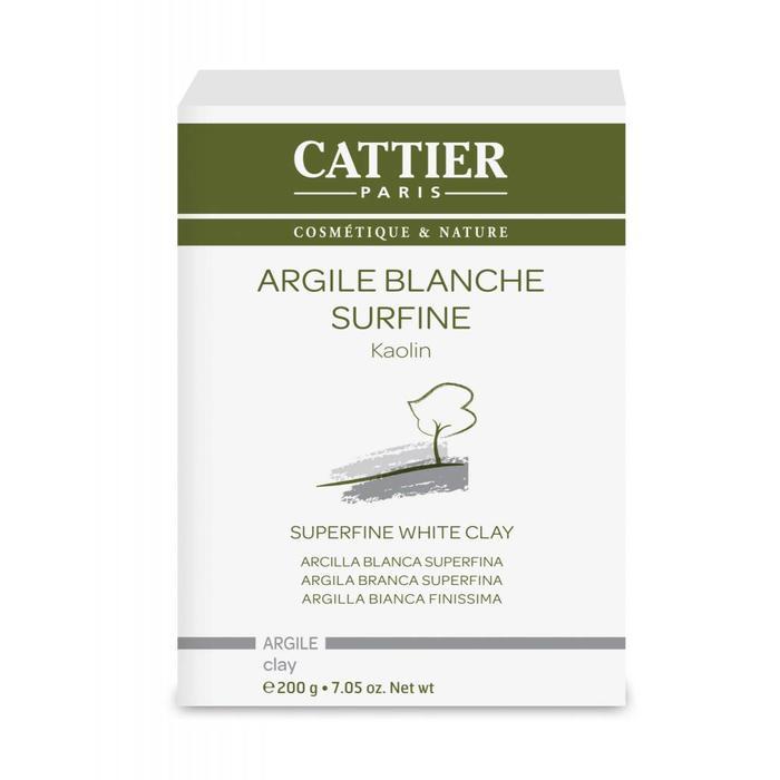 Argile blanche kaolin surfine 200g