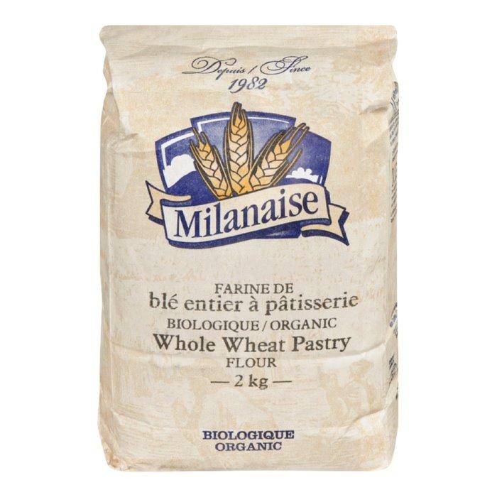 Farine de blé entier à pâtisserie bio 5kg