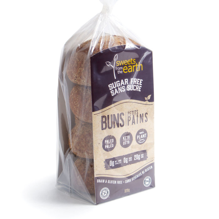 Petits pains sans sucre céto (4x80g)