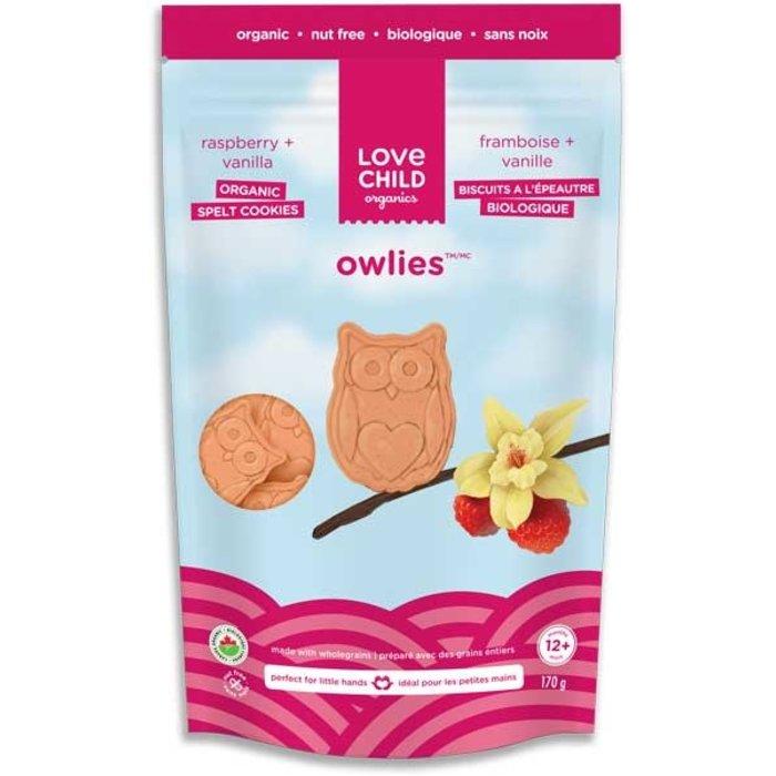 Biscuit épautre famboise vanille bio 170g