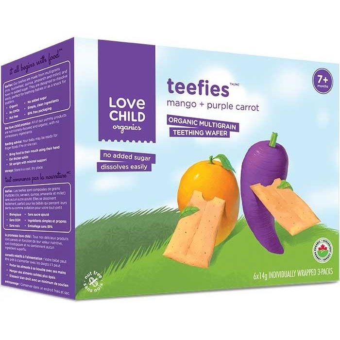 Biscuit de dentition mangue, carotte violette bio 84g