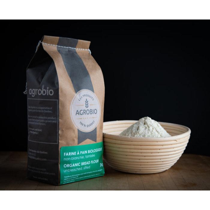 Farine blanche, non blanchie,tamisée bio 2kg