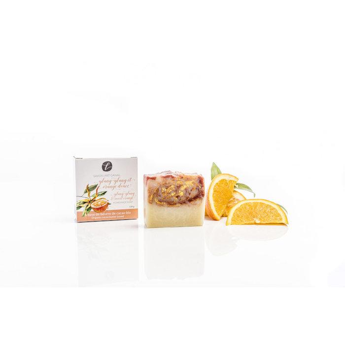 Savon en boîte Ylang ylang orange douce 120g